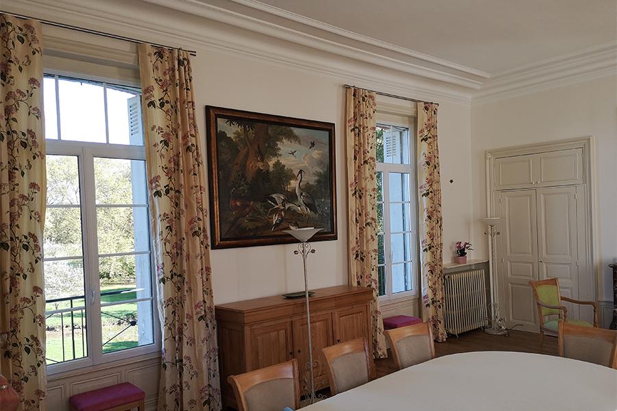 Pose et achat de tissu pour rideaux Poitiers